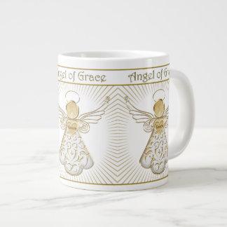 Choix de couleur : Ange de Noël des rayons de Mug Jumbo