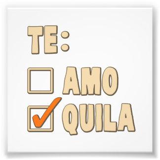 Choix d'Espagnol de tequila d'AMO de Te Photos D'art