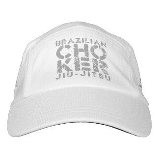 CHOKER - I Love Brazilian Jiu-Jitsu v02, Silver Headsweats Hat