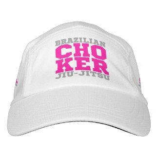 CHOKER - I Love Brazilian Jiu-Jitsu v07, Silver Headsweats Hat