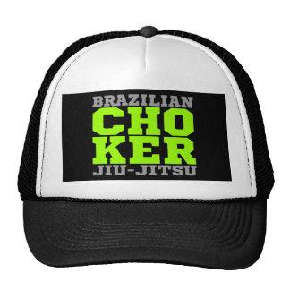 CHOKER - I Love Brazilian Jiu-Jitsu v07, Silver Trucker Hat
