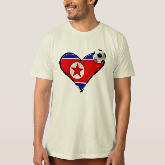 Chollima love North Korean soccer fans gifts T-Shirt