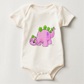 Chomby Pink Baby Bodysuit