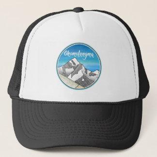 Chomolungma Mount Everest Line Art Trucker Hat