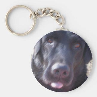 Chomper Basic Round Button Keychain
