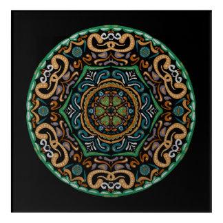 Chons Da Mandala Acrylic Wall Art