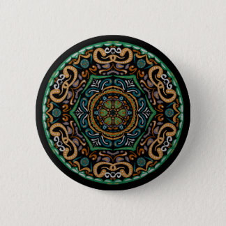 Chons Da Mandala (Customizable Background) 2 Inch Round Button