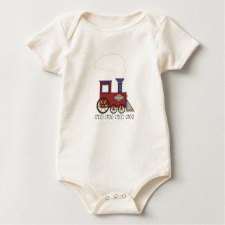 Choo Choo Train Baby Bodysuit