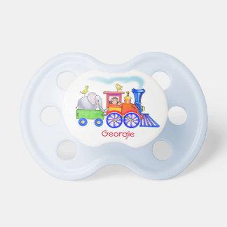 Choo Choo Train Baby Pacifiers