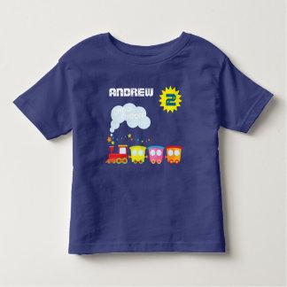 Choo Choo Train Boys Birthday Shirt