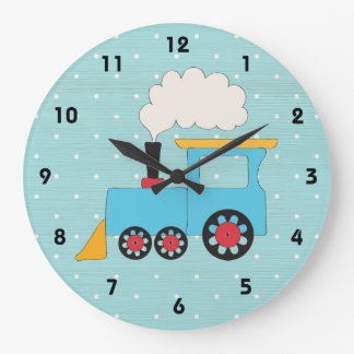Choo Choo Train Clock