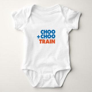 Choo Choo Train Math Baby Bodysuit