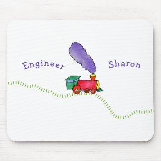 Choo Choo Train Mouse Pad