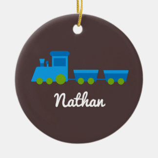 Choo Choo Train Personalized Christmas Ornament