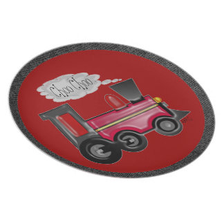 Choo Choo Train Plate