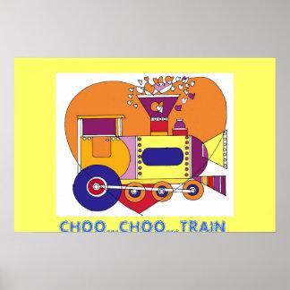 CHOO...CHOO...TRAIN POSTER