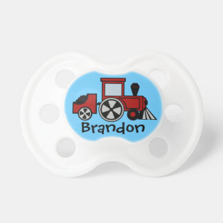 Choo Choo Train Red Pacifier