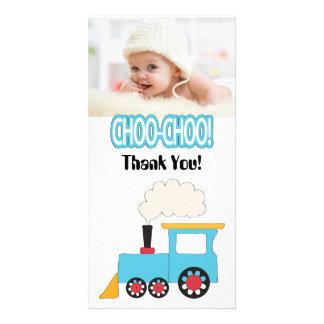 Choo Choo Train Thank You Photo Cards