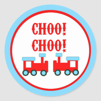 Choo Choo Trains Stickers