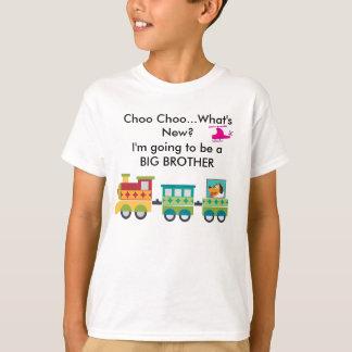 Choo Choo What's New Pregnancy Announcement T-Shir T-Shirt