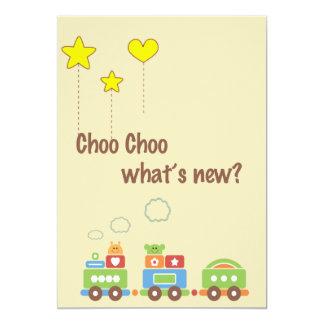 Choo Choo What's New? Pregnancy Photo Announcement