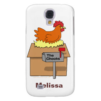Chook House Funny Chicken on House Cartoon