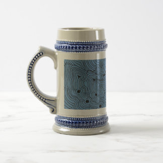 Choose A Color Background Abstract Art Beer Stein