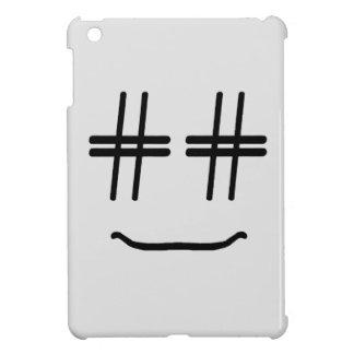 CHOOSE ANY COLOR # Hashtag Smiley Face Cute Case For The iPad Mini
