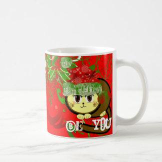 Choose Background Color-Merry Chri... - Customized Coffee Mug