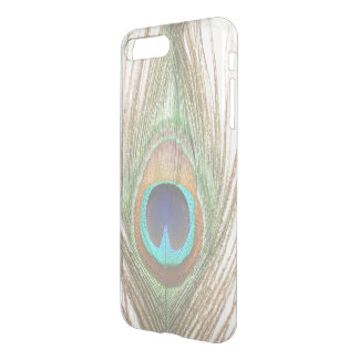 Choose Color Close Up Peacock Feather iPhone 8 Plus/7 Plus Case
