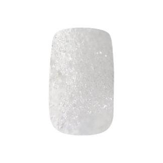Choose Color Close Up Snow Crystals Minx Nail Art