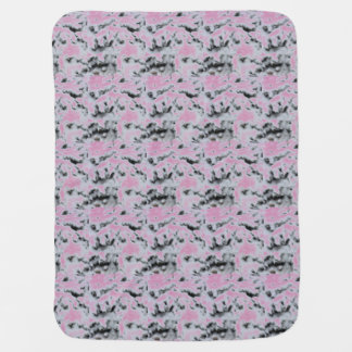 Choose Color Snow Camo Baby Blanket