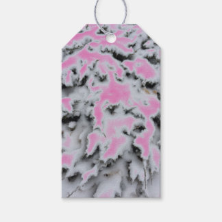 Choose Color Snow Camo Pack Of Gift Tags