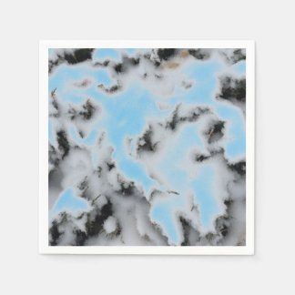 Choose Color Snow Camo Paper Napkin