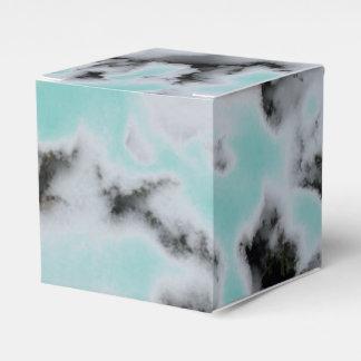 Choose Color Snow Camo Wedding Favor Box