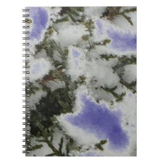Choose Color Snow Pine Notebook