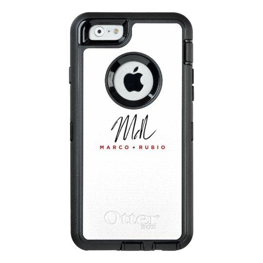 Choose Colour: Otterbox Defender Marco Rubio OtterBox iPhone 6/6s Case