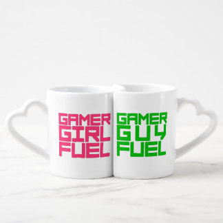 Choose Girl or Guy Gamer Fuel Coffee Mug Set