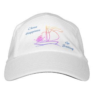 Choose happiness, go sailing hat
