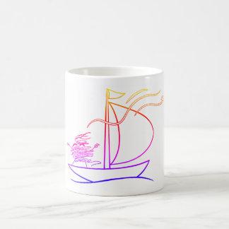 Choose Happiness Go Sailing - unraveltravel Coffee Mug