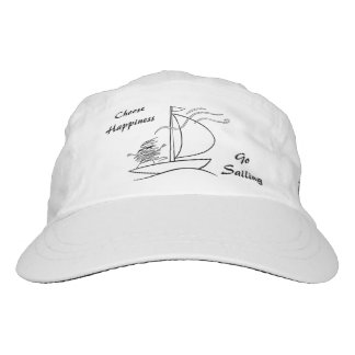 Choose happiness, go sailing - unraveltravel hat