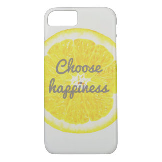 Choose Happiness Phone Case