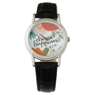 Choose Happiness Woman's Watch