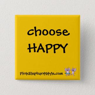 Choose Happy Button