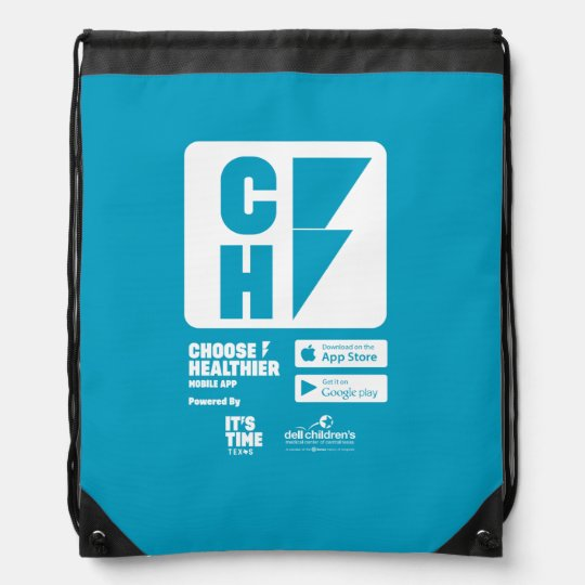 Choose Healthier Drawstring Bag