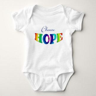 Choose HOPE Baby Onsie Baby Bodysuit