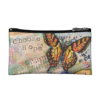 choose hope make-up bag cosmetic bags