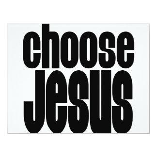Choose Jesus Custom Announcement