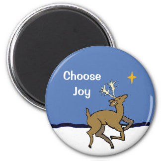 choose joy 2 inch round magnet