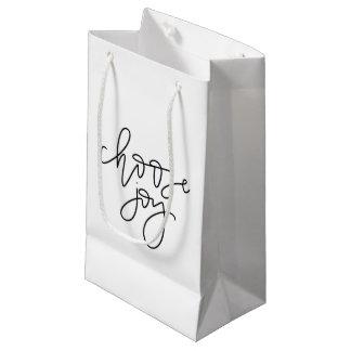 Choose Joy Calligraphy Gift Bag